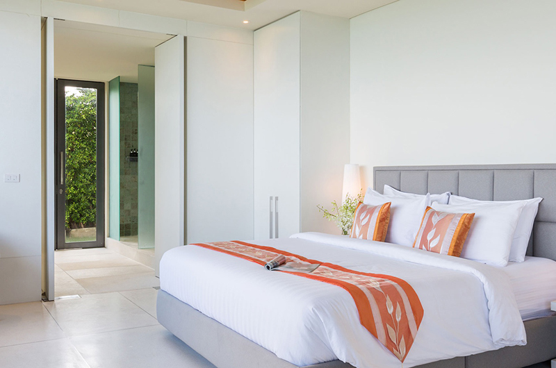 Villa Natha Bedroom Area | Choeng Mon, Koh Samui