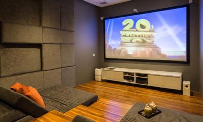Villa Natha Cinema Room | Choeng Mon, Koh Samui