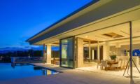 Villa Natha Night View | Choeng Mon, Koh Samui