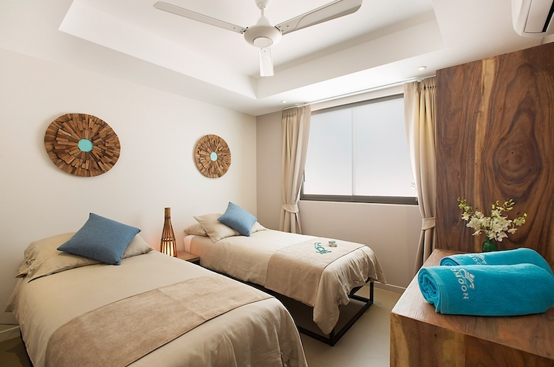 Villa Poda Twin Bedroom Area | Chaweng, Koh Samui