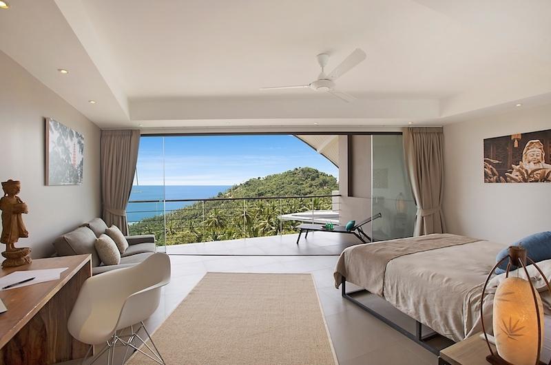 Villa Poda Bedroom with Study Table | Chaweng, Koh Samui