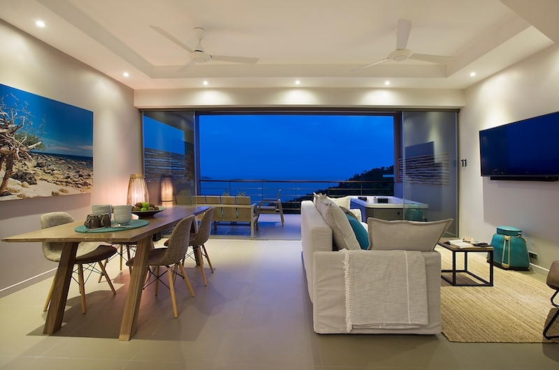 Villa Poda Living Area | Chaweng, Koh Samui