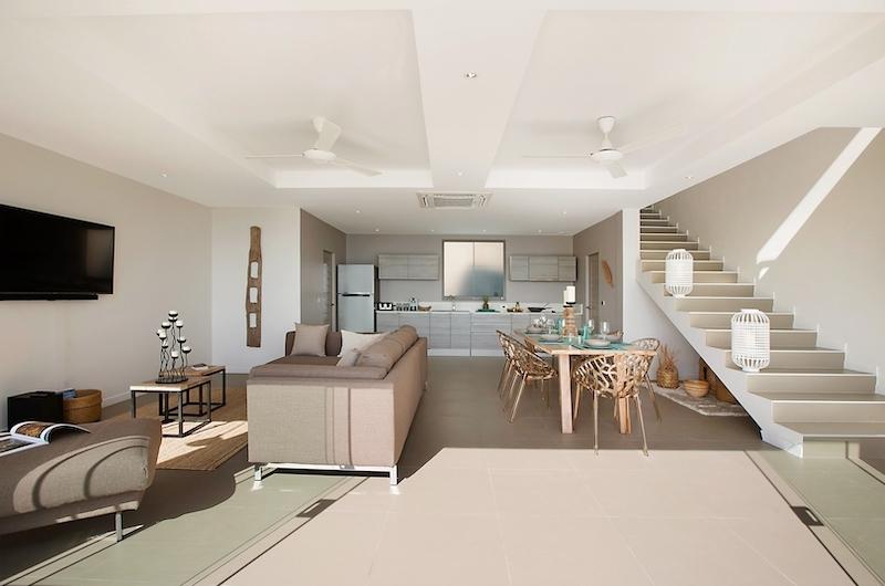 Villa Tao Living Room | Chaweng, Koh Samui
