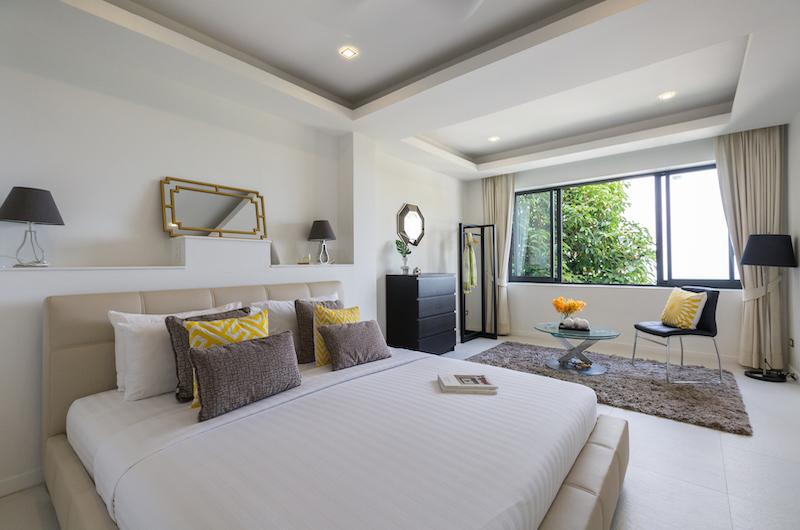 Villa Vista Azul Bedroom Area   Chaweng, Koh Samui