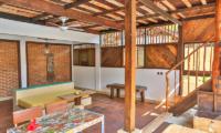 Apalagi Villas Deluxe Villa Indoor Seating | Gili Air, Lombok