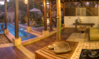 Apalagi Villas Deluxe Villa Living Room | Gili Air, Lombok