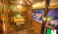 Apalagi Villas Deluxe Villa Seating | Gili Air, Lombok