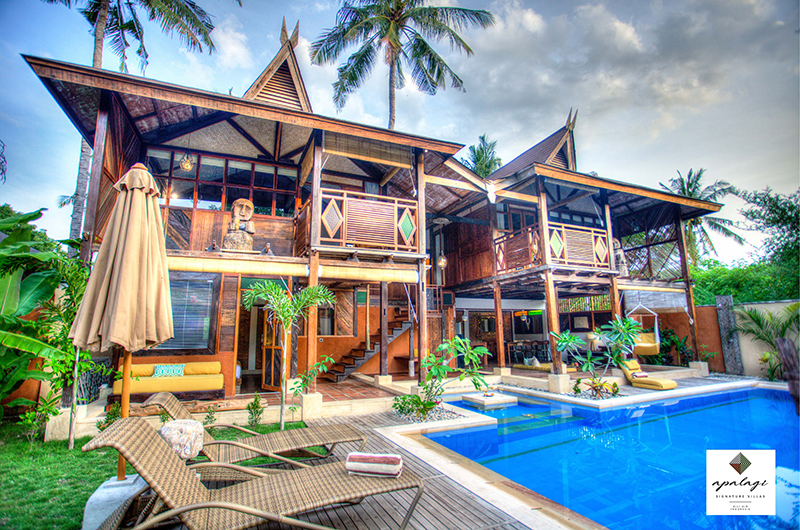 Apalagi Villas Three Bedroom Villas with Sun Deck | Gili Air, Lombok