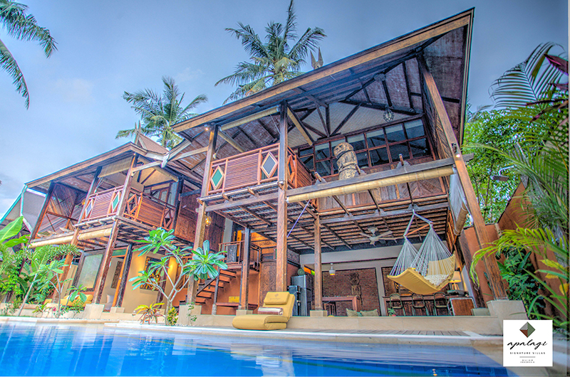 Apalagi Villas Joglo House with Hammock | Gili Air, Lombok