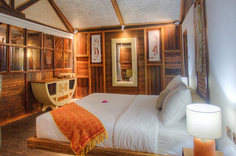 Apalagi Villas Three Bedroom Villas Bedroom with Wooden Deck | Gili Air, Lombok