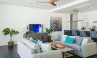 Natai Villa A TV Area | Natai, Phang Nga
