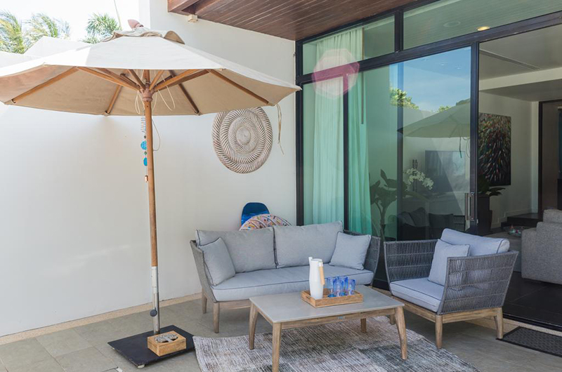 Natai Villa A Seating Area | Natai, Phang Nga