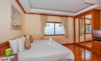Villa Balie Bedroom with TV | Patong, Phuket
