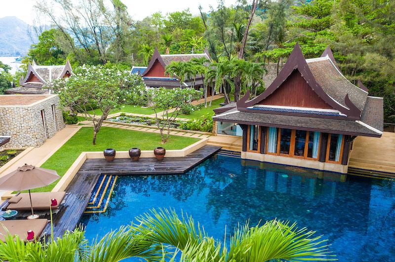 Villa Chada Swimming Pool Area   Kamala, Phuket