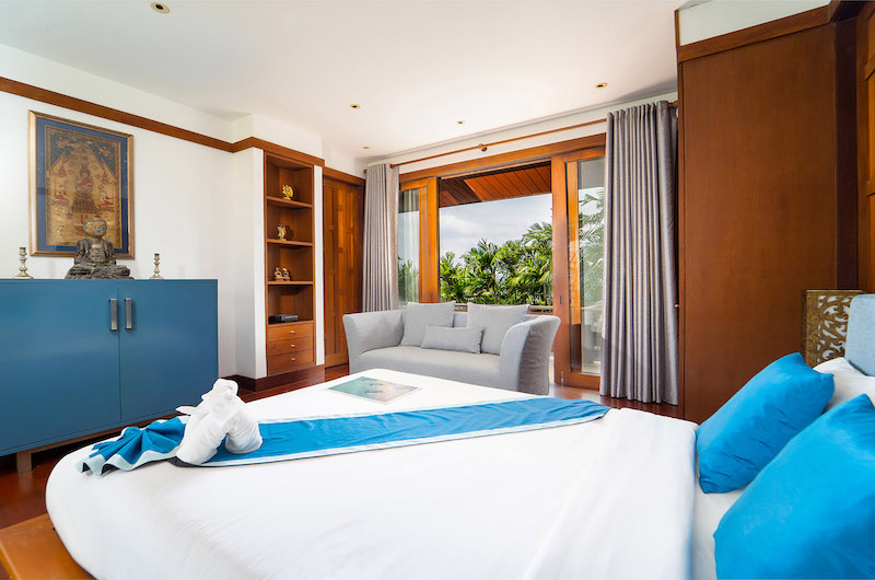 Villa Chada Bedroom One Side   Kamala, Phuket