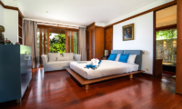 Villa Chada Bedroom with Seating   Kamala, Phuket