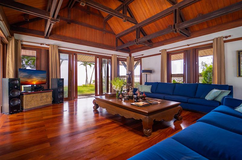 Villa Chada Media Area   Kamala, Phuket