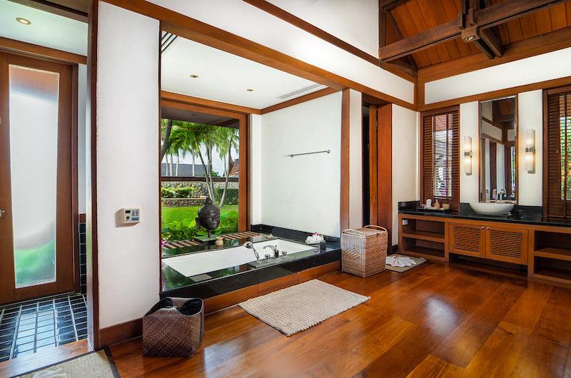 Villa Chada Bathtub Area   Kamala, Phuket