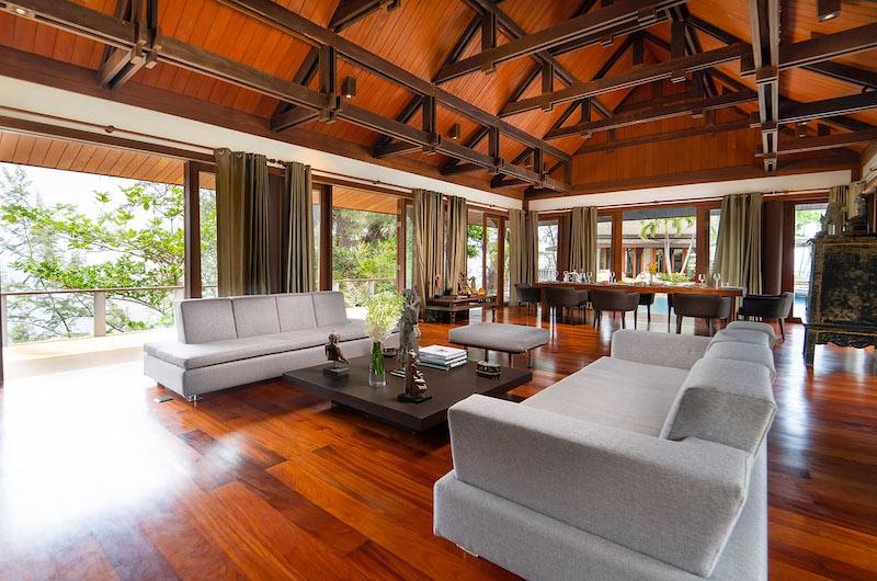 Villa Chada Living Area   Kamala, Phuket