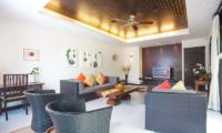 Villa Chom Tawan Living Area with TV | Layan, Phuket