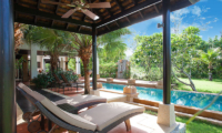 Villa Chom Tawan Sun Loungers with Pool View | Layan, Phuket