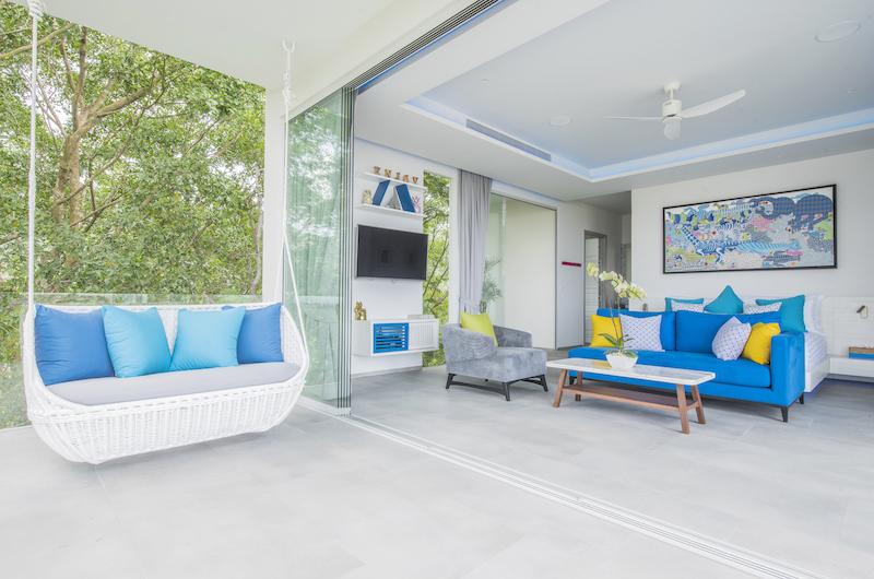 Villa Enjoy Bedroom with Seating | Patong, Phuket
