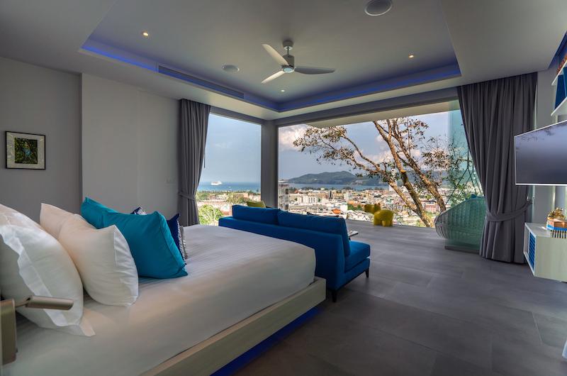 Villa Enjoy Bedroom with TV | Patong, Phuket