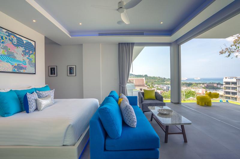 Villa Enjoy Bedroom Area | Patong, Phuket