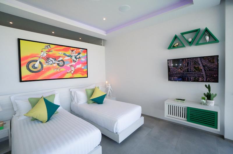 Villa Enjoy Green Suite Twin Bedroom | Patong, Phuket