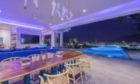 Villa Enjoy Night View Dining Area | Patong, Phuket
