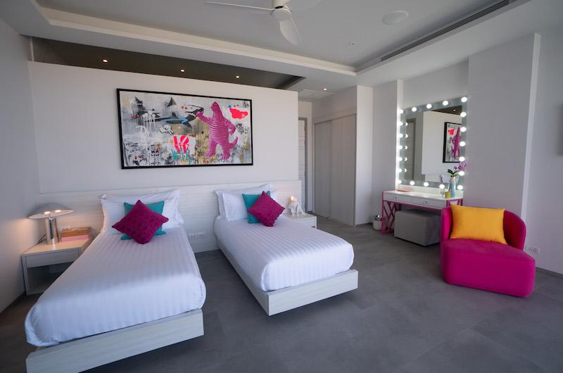 Villa Enjoy Spacious Twin Bedroom Area | Patong, Phuket
