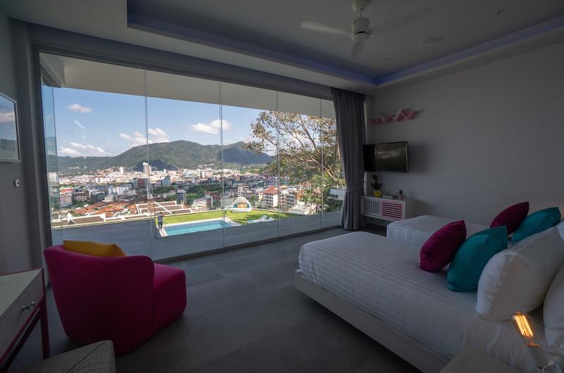 Villa Enjoy Twin Bedroom with Balcony | Patong, Phuket