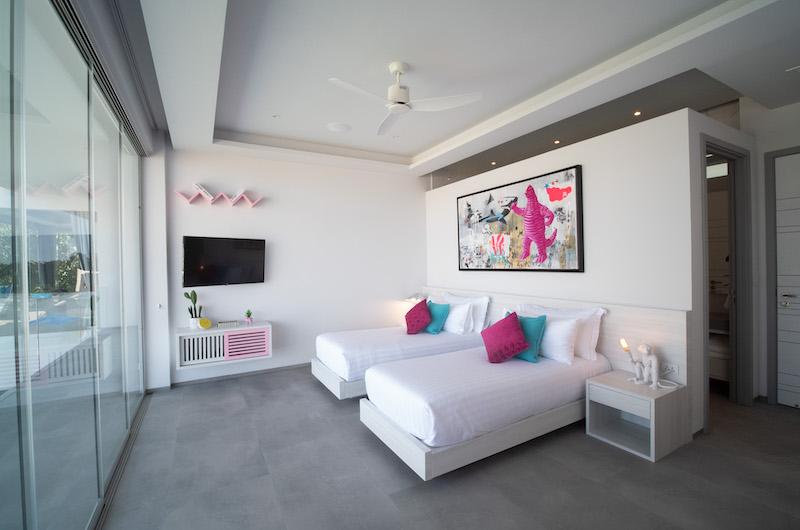 Villa Enjoy Twin Bedroom Side | Patong, Phuket