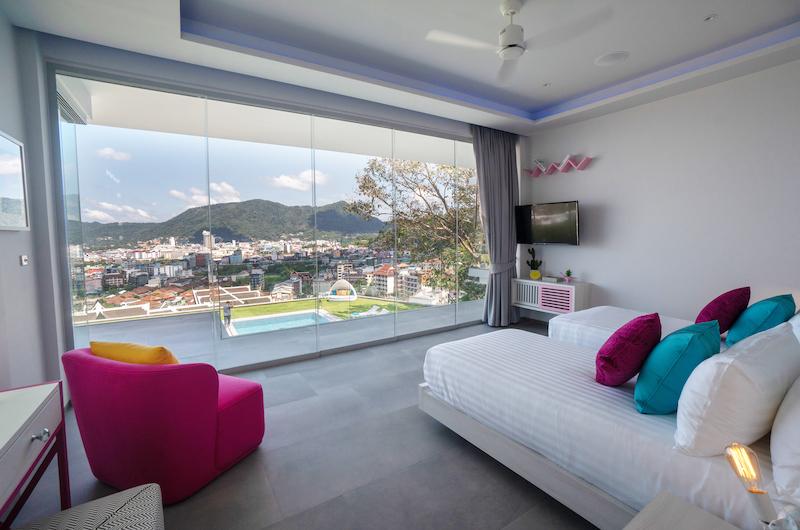 Villa Enjoy Pink Suite Bedroom Area | Patong, Phuket