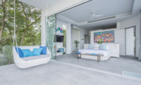 Villa Enjoy Teal Suite Bedroom with TV | Patong, Phuket