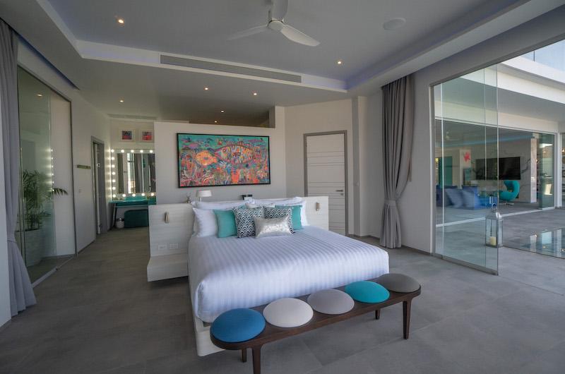 Villa Enjoy Teal Suite Bedroom Side | Patong, Phuket