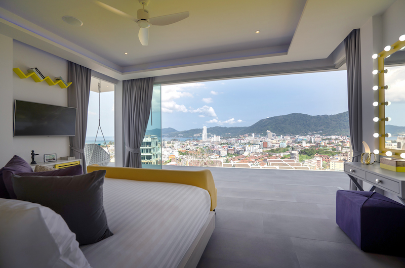 Villa Enjoy Yellow Suite Bedroom Area | Patong, Phuket