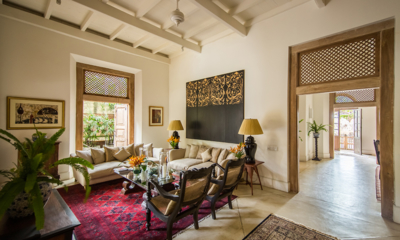 Rampart Street Living Area and Hallway | Galle, Sri Lanka