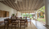 Rampart Street Dining Area with Garden View | Galle, Sri Lanka