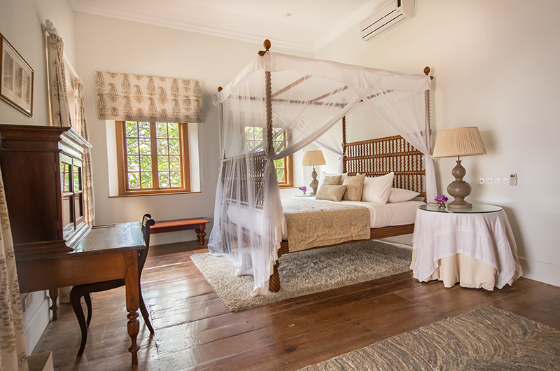 Rampart Street Bedroom with Study Table | Galle, Sri Lanka