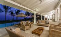 Villa Ahasa Poolside Seating Area | Habaraduwa, Sri Lanka
