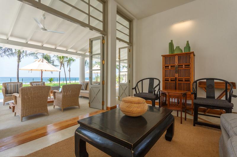 Villa Ahasa Seating Area with View | Habaraduwa, Sri Lanka
