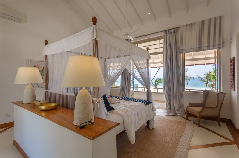 Villa Ahasa Master Bedroom with Sea View | Habaraduwa, Sri Lanka