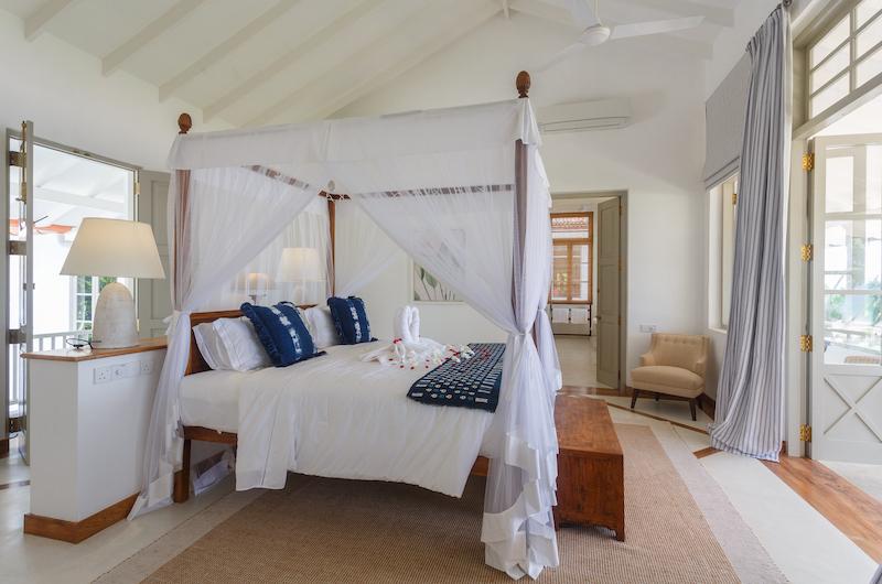 Villa Ahasa Bedroom with Balcony | Habaraduwa, Sri Lanka