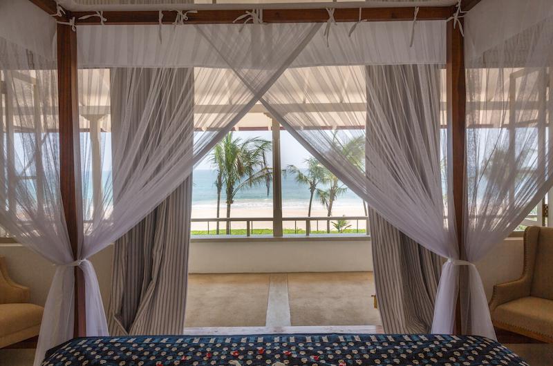 Villa Ahasa King Size Bed View | Habaraduwa, Sri Lanka