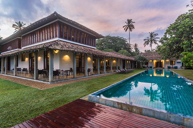 Villa Frangipani Tree Pool Area | Talpe, Sri Lanka