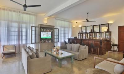 Villa Frangipani Tree Living Area | Talpe, Sri Lanka