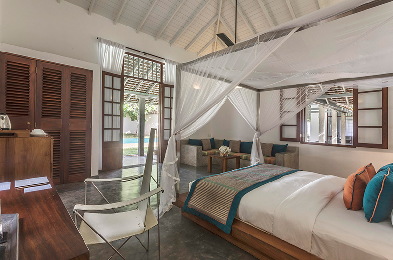 Villa Frangipani Tree Olive Ridley One Bedroom Area | Talpe, Sri Lanka