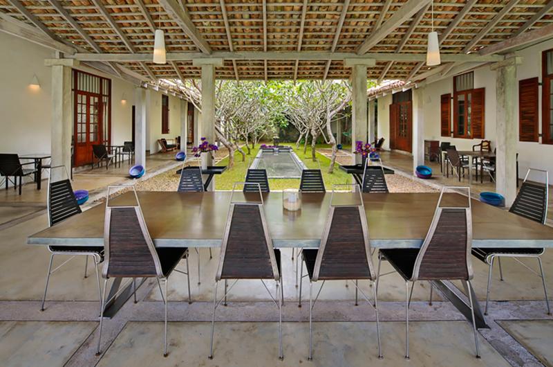 Villa Frangipani Tree Olive Ridley Two Dining Area | Talpe, Sri Lanka