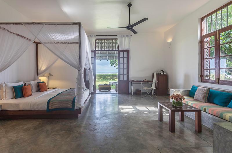 Villa Frangipani Tree Olive Ridley Beach Bedroom Side | Talpe, Sri Lanka